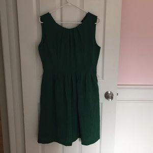 Ellen Tracy - Gorgeous Kelly Green Dress